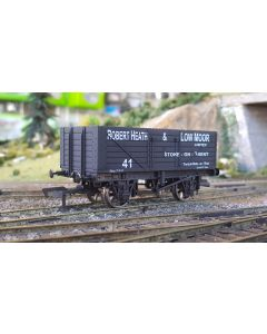 THG004 Dapol Special Commission 7 Plank Wagon 'Robert Heath & Low Moor'