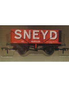 THG005 Dapol Special Commission 7 Plank Wagon 'Sneyd | Burslem' OO gauge