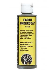 Woodland Scenics WC1229 Earth Undercoat Earth Colours™ Liquid Pigment 4 fl. oz.