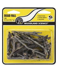 Woodland Scenics WS30 Dead Fall 0.5 Oz