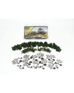 "Woodland Scenics WTR1111 ¾""−3"" Medium Green Deciduous Trees (21/Kit)"