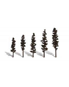 "Woodland Scenics WTR3560  2 ½""−4"" Classic Standing Timber (5/Pk)"