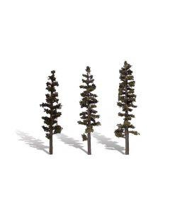 "Woodland Scenics WTR3562  6""−7"" Classic Standing Timber (3/Pk)"