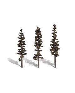"Woodland Scenics WTR3563  7""−8"" Classic Standing Timber (3/Pk)"