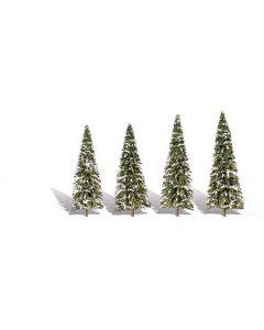 "Woodland Scenics WTR3567  2 ""−3 ½"" Classic Snow Dusted (5/Pk)"